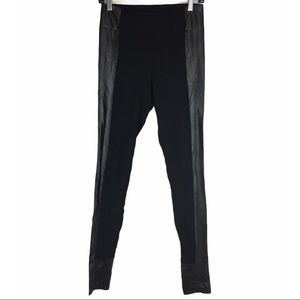 Wilfred Free Legging with Vegan Leather Detail